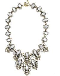 BaubleBar Deco Diamond Bib - Lyst