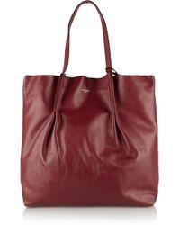 Nina Ricci Large Leather Tote - Lyst