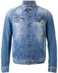 Diesel 'Elshar-E' Denim Jacket blue - Lyst