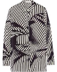 Stella McCartney Anya Printed Silk Shirt - Lyst