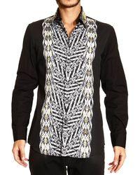 Roberto Cavalli - Just Cavalli Shirt Italian Collar Gipsy Duel - Lyst
