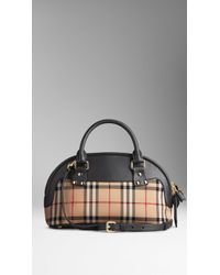 Burberry The Small Bloomsbury in Horseferry Check - Lyst