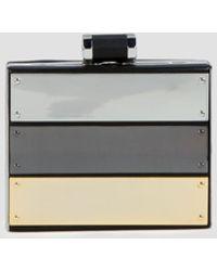 Halston Heritage Clutch Box Metal Plaque - Lyst