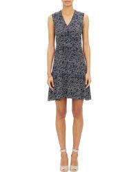 Derek Lam Abstract-Print Tulip Skirt Dress - Lyst