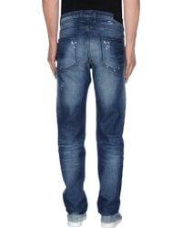 Neil Barrett Denim Trousers - Blue