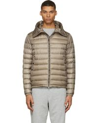 Moncler Dijon Quilted Down Hooded Jacket - Lyst