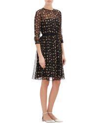 Urban Outfitters Kimchi Blue Emmy Lou Chiffon Dress In