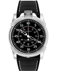 CT Scuderia - '0-60' Automatic Leather Strap Watch - Lyst