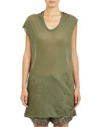 Isabel Marant Tissueweight Jersey Xani Tshirt - Lyst