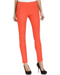Vince Camuto Skinny Side-Zip Pants - Lyst