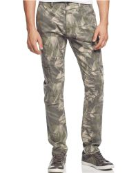 Guess Sunset Heights Camo Cargo Pants - Lyst