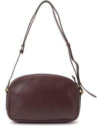 Cartier Leather Shoulder Bag red - Lyst