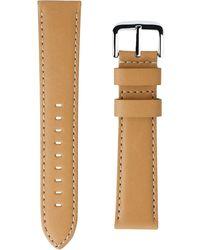Shinola - Interchangeable Natural Latigo Leather Watch Strap, 24mm - Lyst