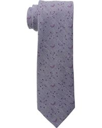 Calvin Klein Purple Suiting Floral - Lyst