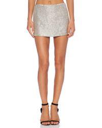 MLV - Bobbi Sequin Skirt - Lyst