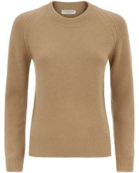 Burberry London Crew Neck Cashmere Sweater - Lyst