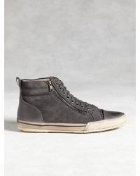 John Varvatos | Star Zip High Top | Lyst