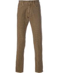 Incotex Trousers - Lyst