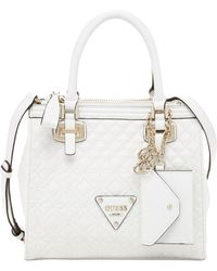 Guess Sunset Quilt Small Status Satchel - Lyst