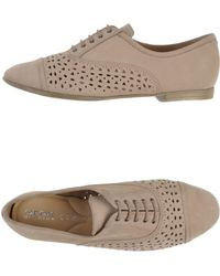 Geox Lace-Up Shoes - Lyst