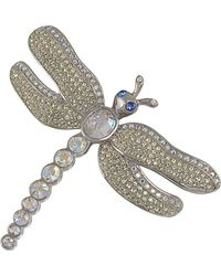 Carolee - Swarovski Crystal Dragonfly Pin - Lyst