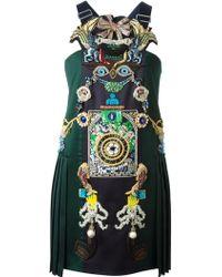 Mary Katrantzou Tiki Man Dress - Lyst