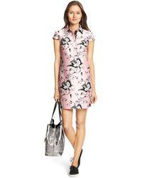 Diane von Furstenberg Dvf Morgan Raw Silk Tunic Dress - Lyst