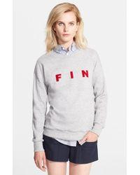 Band of Outsiders 'Fin' Sweatshirt - Lyst