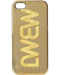 Marc By Marc Jacobs Case For Iphone 5 Mbmj Metallic Quilted - Lyst