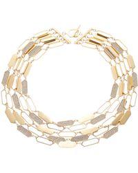 Lauren by Ralph Lauren - Multi-Row Geo Statement Necklace - 16 In. - Lyst