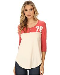 Free People Super Cycle Jersey Number Graphic - Lyst