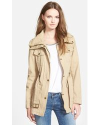 Guess Belted Utility Jacket - Lyst
