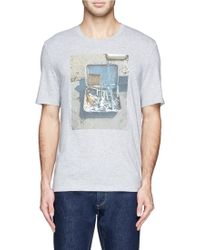 Maison Margiela Toolbox Print Cotton Jersey T-Shirt - Lyst