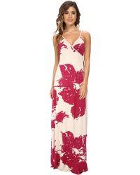 Rachel Pally Spaghetti Wrap Dress - Lyst