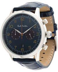 Paul Smith Embossed Bracelet Watch - Blue