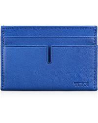 Tumi Slim Card Case - Blue