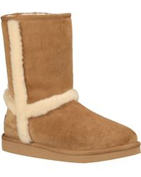 Ugg Carter Water Resistant Suede Boots - Lyst
