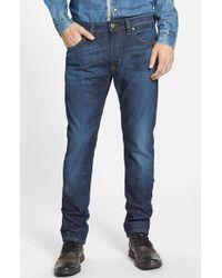 Diesel 'Thavar' Skinny Fit Jeans blue - Lyst
