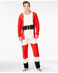 American Rag Santa Adult Onesie, Only At Macy's - Red