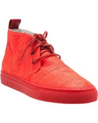 Del Toro Lace Up Chukka Trainers - Lyst
