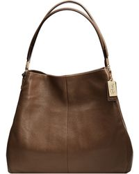 Coach Madison Leather Small Phoebe Shoulder Bag - Lyst
