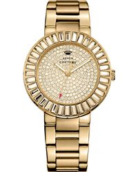 Juicy Couture Womens Grove Goldtone Stainless Steel Bracelet Watch 38mm - Lyst