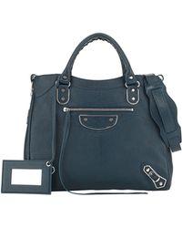 Balenciaga Metallic Edge Classic Velo Bag - Lyst