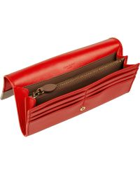 Nina Ricci - Twotone Leather Continental Wallet - Lyst