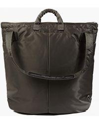 Porter | Grey Tanker Helmet Bag | Lyst
