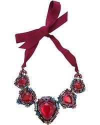 Lanvin - Santa Barbara Short Necklace - Lyst
