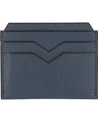 Valextra Flat Card Case - Lyst