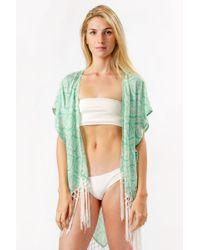 Bikini.com - Mint Kimono - Lyst