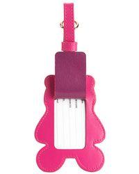 Furla - Luggage Tag Pinky - Lyst