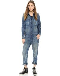 Bliss and Mischief - Mechanic Jumpsuit - Harlan - Lyst